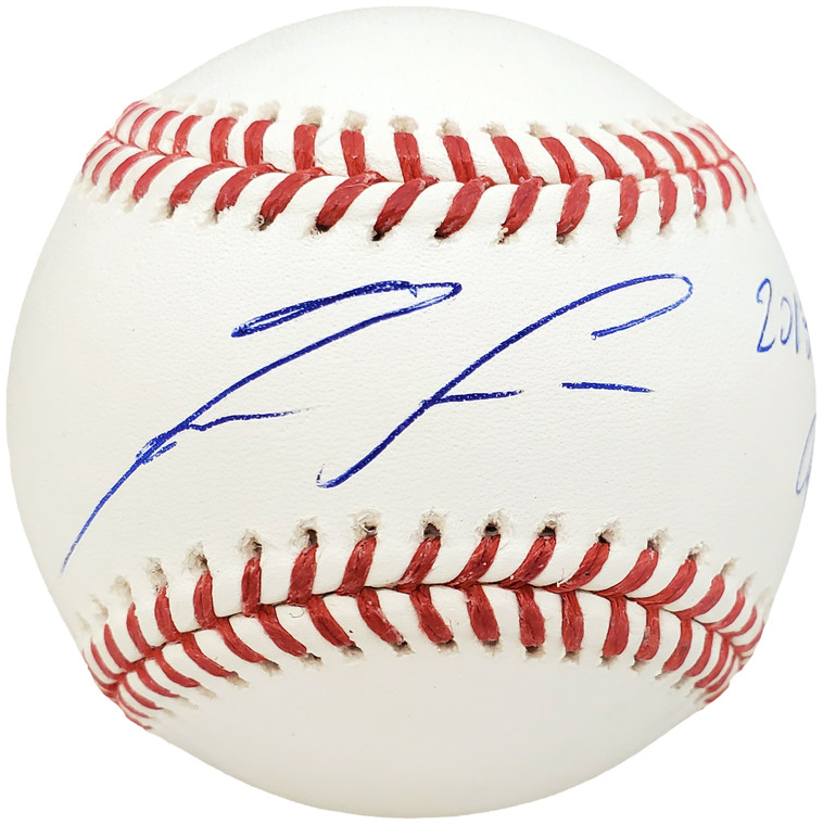 "Ronald Acuna Jr. Atlanta Braves Signed Official MLB Baseball Atlanta Braves ""2018 NL ROY"""