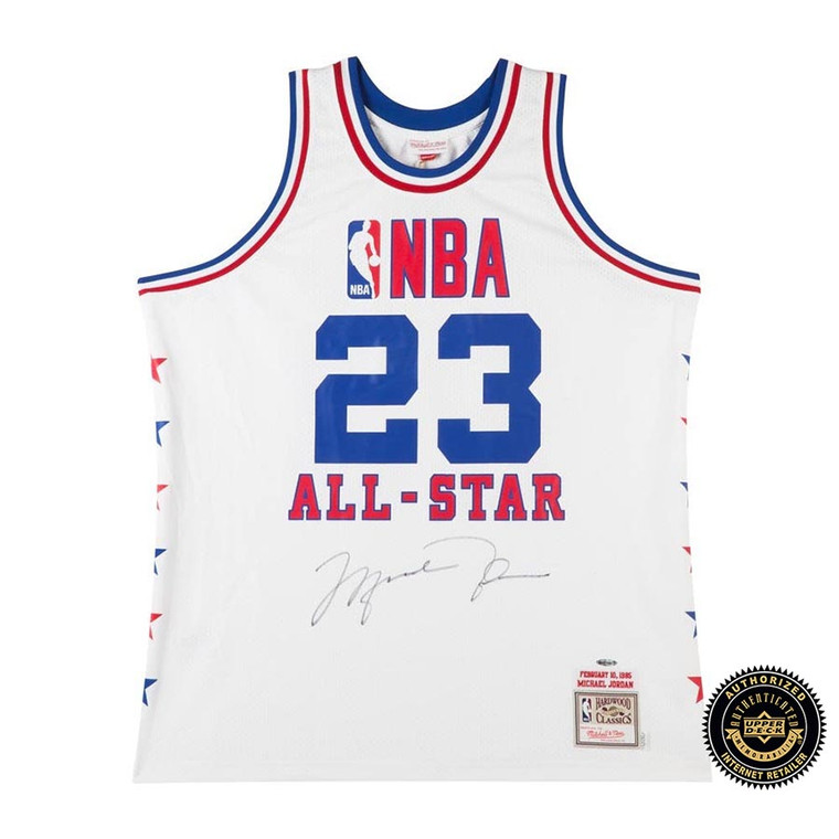 Michael Jordan Autographed 1985 NBA All-Star Game Authentic Mitchell & Ness Jersey