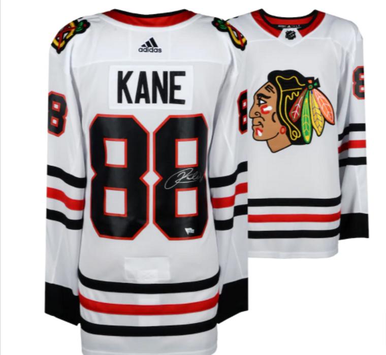 Patrick Kane Chicago Blackhawks Signed White Adidas Authentic Jersey