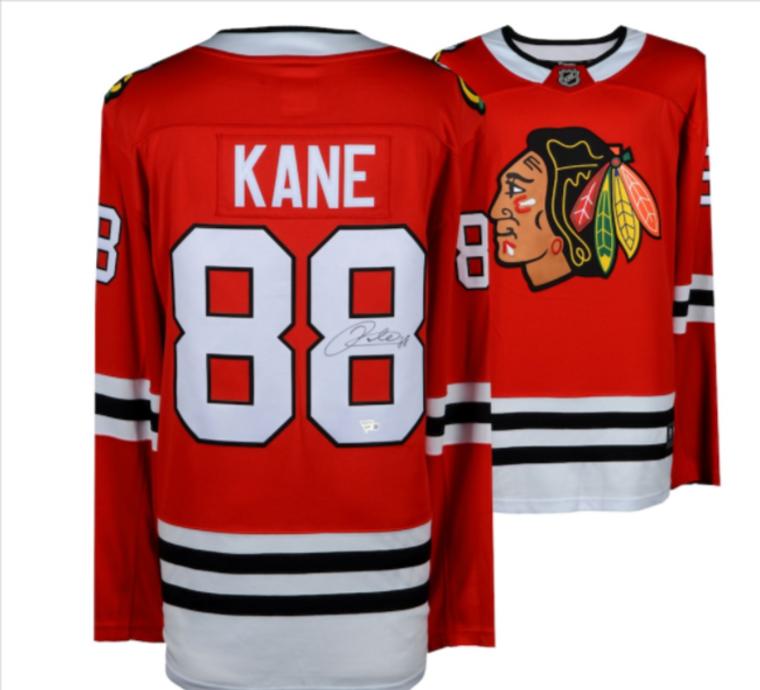 Patrick Kane Chicago Blackhawks Autographed Red Breakaway Jersey