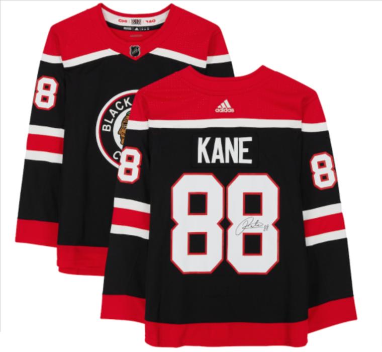 Patrick Kane Chicago Blackhawks Signed Adidas Black 2020-21 Reverse Retro Authentic Jersey
