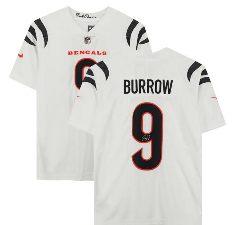 Joe Burrow Cincinnati Bengals Signed Nike White Vapor Limited Jersey