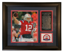 New England Patriots Record-Breaking Photo Plaque