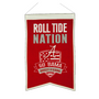 "Alabama Crimson ""Roll Tide"" Nation Banner"