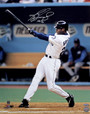 Ken Griffey, Jr. Autographed 16x20 Photo - Swing