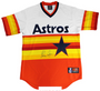 Nolan Ryan Autographed Majestic Houston Astros Throwback Jersey
