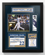 Christian Yelich 2018 NL MVP Framed and Matted Piece