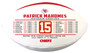 Patrick Mahomes, Rawlings NFL Licensed Kansas City Chiefs Football - a Nikco Sports Exclusive