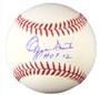 Ozzie Smith Autogaphed MLB Baseball with HOF 02 Inscription