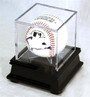 Single Baseball Cube Display Case Stand with 98% UV Ultra Pro Cube Included - RECOMMENDED!
