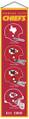 Kansas City Chiefs Heritage Banner - 32x8