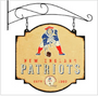 New England Patriots Tavern Sign