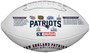 New England Patriots Super Bowl LIII Championship Commemorative Football