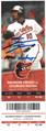 David Dahl Autogaphed Colorado Rockies Ticket Stub MLB Debut - JAS authenticated