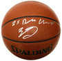 Zach LaVine Signed Spalding NBA Indoor/Outdoor Basketball w/2x Dunk Champ