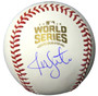 Jon Lester Signed Rawlings Official 2016 World Series Baseball