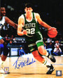 Kevin McHale Signed Boston Celtics Dribbling Action 8x10 Photo
