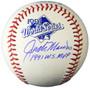 Jack Morris Signed 1991 World Series Baseball w/91 WS MVP