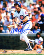 Ryne Sandberg Signed Chicago Cubs Action 8x10 Photo