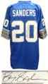 Barry Sanders Signed Lions Blue NFL Pro Line Vintage Premier Jersey