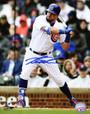 Kyle Schwarber Signed Chicago Cubs Batting Action 8x10 Photo