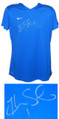 Hope Solo Signed Nike Blue Soccer Jersey