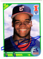 Frank Thomas Signed White Sox 1990 Score Rookie Card #663