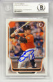 Buster Posey Signed Trading Card - San Francisco Giants 2014 Bowman #145 - (Beckett Encapsulated)
