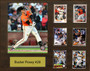 Buster Posey, San Francisco Giants, 16x20 Plaque - 8x10 Action photo and 6 baseball cards