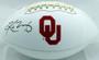 Kyler Murray Autographed Oklahoma Sooners Logo Football Beckett BAS
