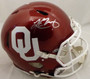 Kyler Murray Oklahoma Sooners Autographed Full Size Authentic Speed Helmet Beckett BAS