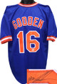 Dwight Gooden New York Mets Autographed Blue Throwback Custom Stitched  Jersey XL - JSA Hologram
