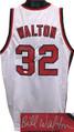 Bill Walton Portland Trailblazers signed White Throw Back Custom Stitched Basketball Jersey XL - JSA Hologram