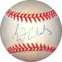 Greg Maddux Chicago Cubs and Atlanta Braves signed Rawlings Official National League Baseball toned - JSA Hologram #EE41823