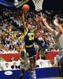 "Jimmy King Autographed  8x10 Photo - Michigan Wolverines ""Fab 5 Five"" JSA COA 4"