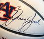 Bruce Pearl Autographed Auburn Tigers Full-Size Logo Basketball