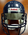 Russell Wilson Autographed Helmet - Seattle Seahawks Riddell Full Size Replica SB XLVIII Champs Silver Sig