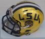 Jarvis Landry Autographed Mini Helmet - LSU Tigers Riddell Gold Chrome Speed