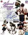 "Walter Payton Autographed 8x10 Photo - Chicago Bears ""Sweetness 16,726"" PSA/DNA"