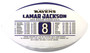 Lamar Jackson 2019 NFL MVP Commemorative Football