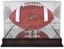 LSU Tigers 2019-20 CFP Logo Mahogany Football Case