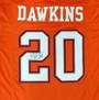 Brian Dawkins Autographed Jersey - Clemson Tigers Orange Beckett BAS
