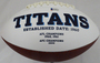 Derrick Henry Autographed Football -Tennessee Titans White Wilson  Beckett BAS