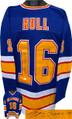Brett Hull Autographed Jersey - Blue TB Custom Stitched St. Louis Blues Pro Hockey Jersey #16 XL - JSA Witnessed Hologram