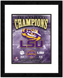 LSU Tigers 11x14 Framed and Matted National Champions Piece