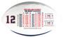 Tom Brady Career Highlights Commemorative Football