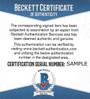 Steve Atwater Autographed Mini Helmet - Denver Broncos Blue Riddell Speed   Beckett BAS