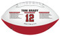 Tom Brady Tampa Bay Buccaneers Limited Edition Embossed Football 2020