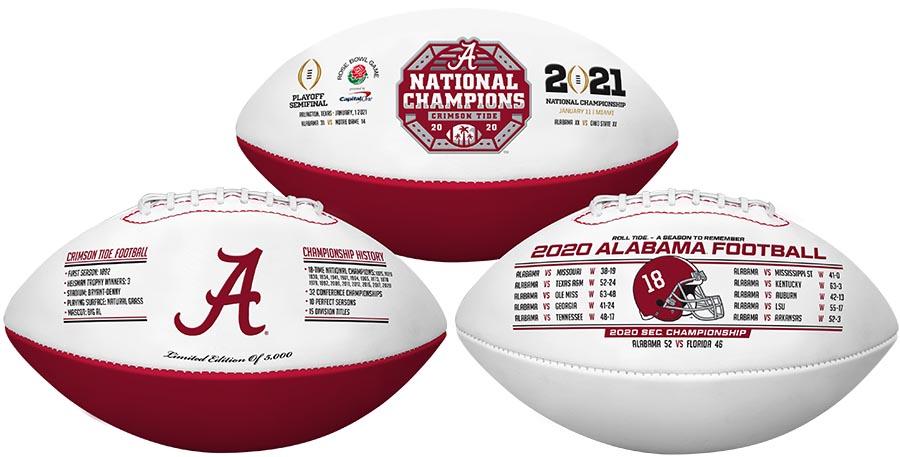 Alabama National Champion 2020/2021 Football