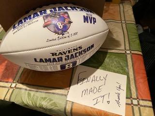 Lamar Jackson Football